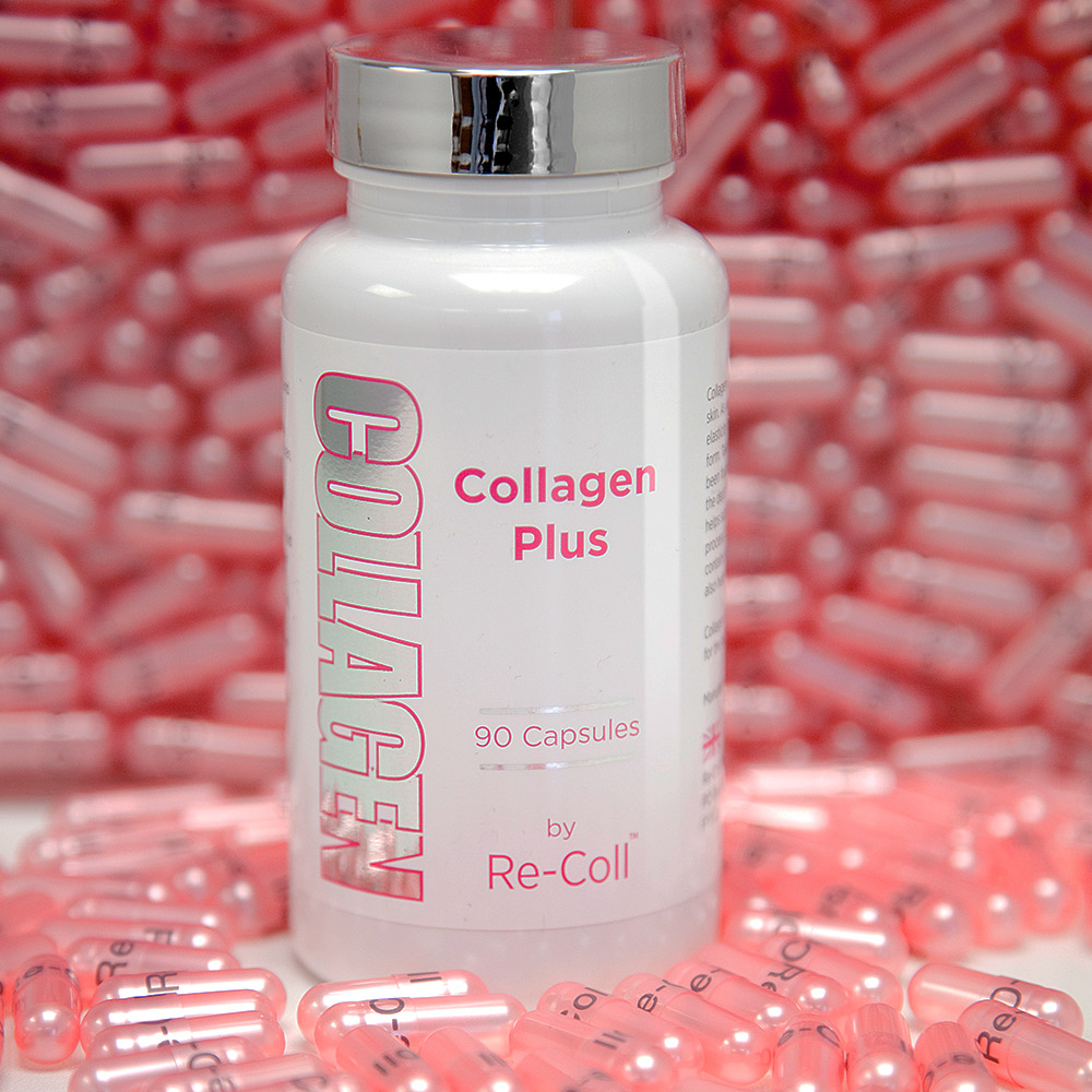 Take 3 collagen capsules 1 hour after food before bed